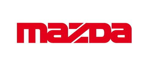 Lot de 2 Stickers Logo Mazda - Taille 40 x 7 cm
