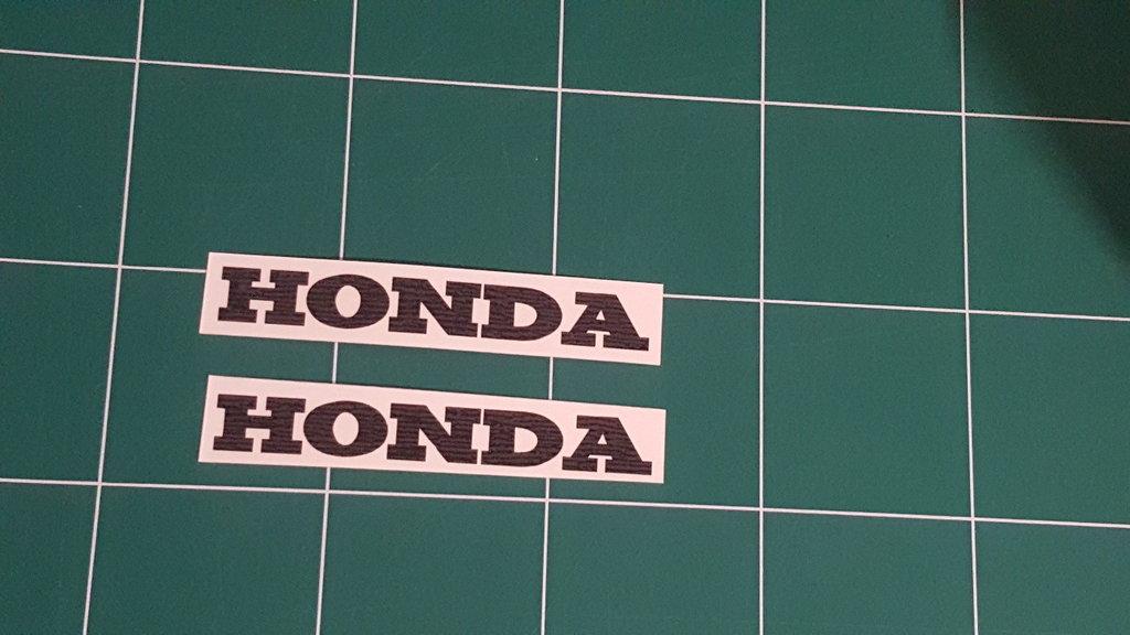 Sticker Logo Honda - Taille 15 x 2,15 cm