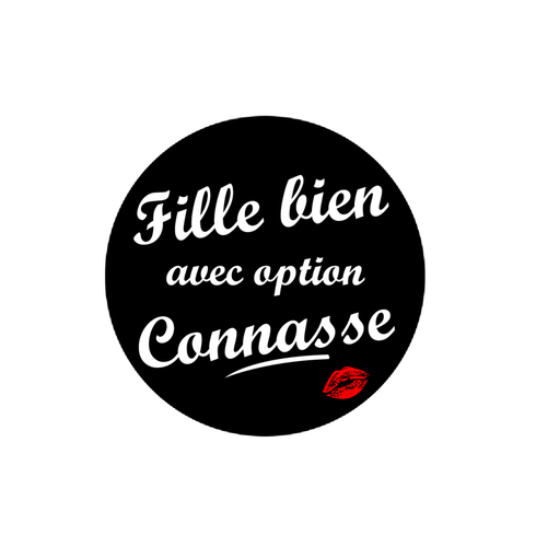 Lot de 2 Stickers Enidna Dim : 150 x 150 mm - impression